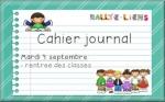 Rallye-liens : mon cahier-journal