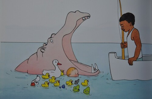 Chut les enfants lisent : Le bain d'Abel