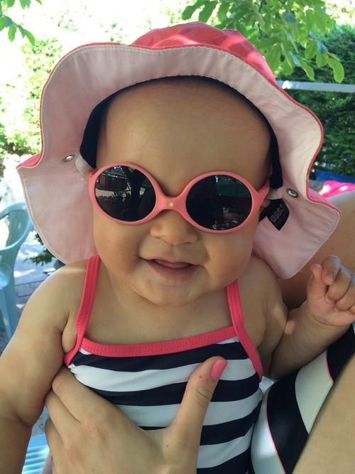 Un look Ki ET LA pour nos bébés à la piscine