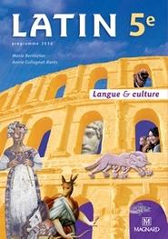 Latin 5e (2010) - Manuel élève