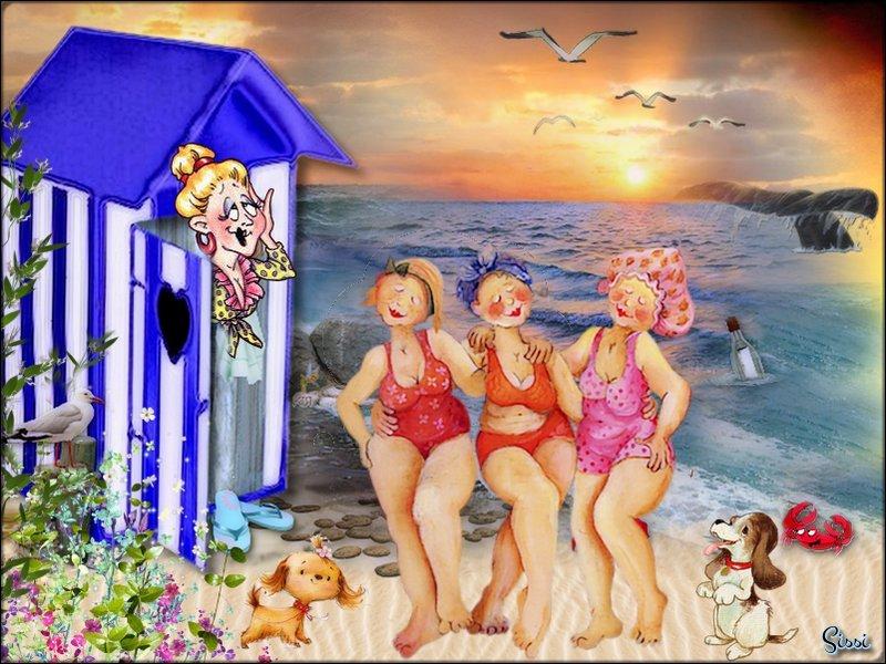 * Atelier Baboucka La Grande Bleue *