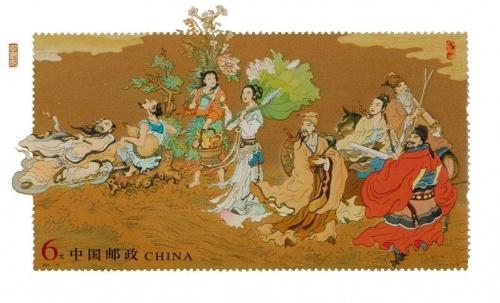 Les huit immortels chinois