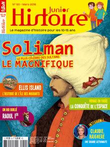 Histoire Junior n° 50 - mars 2016