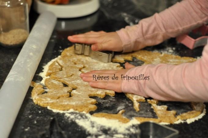 Biscuits à paillettes - défi Si j'étais