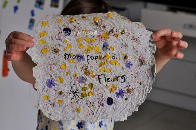 Fabriquer du papyrus à fleurs