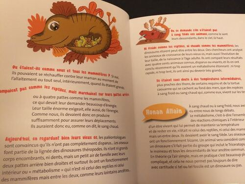 Chut les enfants lisent : Les Dinosaures, ce qu'on ne sait pas encore..