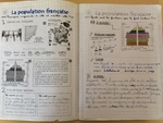 Cahier de géographie