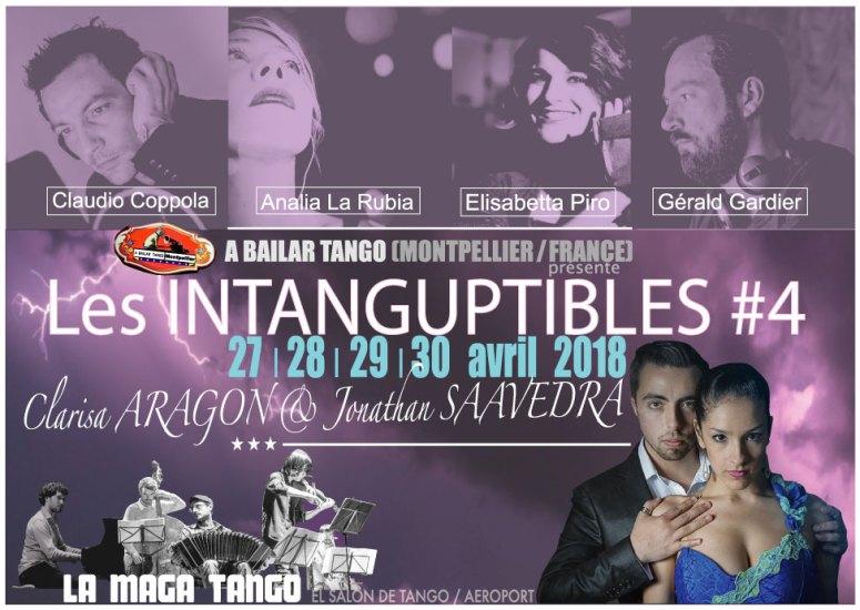 """★ Les """"INTANG' #4"""" avec Clarisa & Jonathan à J-7 : petit changement de programme ★"""