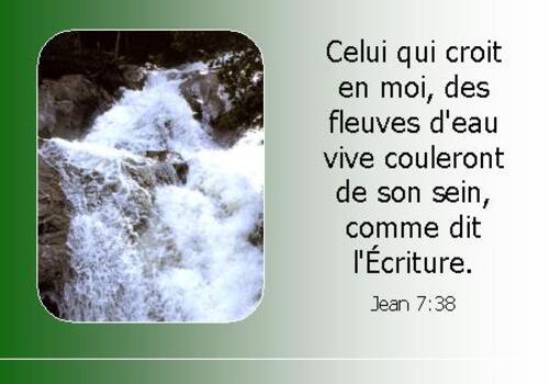 Jean 7: 38