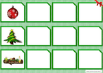 Jeux de discrimination visuelle Noël
