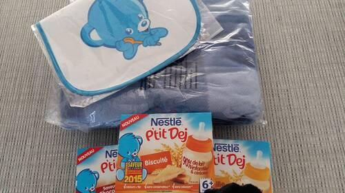Bébé teste les P'tit Dej de Nestlé (test et avis)
