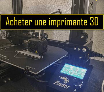 imprimante 3d Creality Ender 3