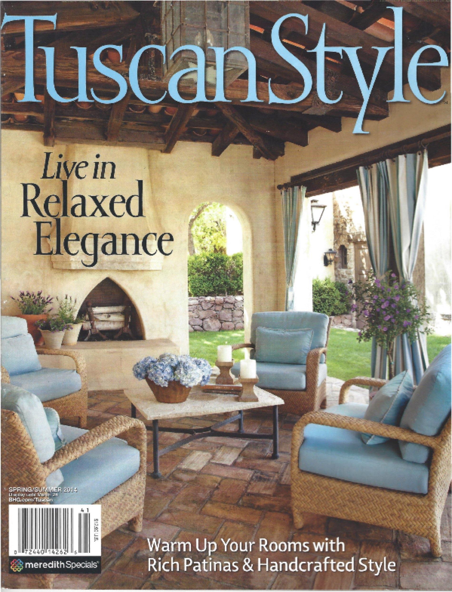 Tuscan Style Cover Eklektik Interiors Houston Texas