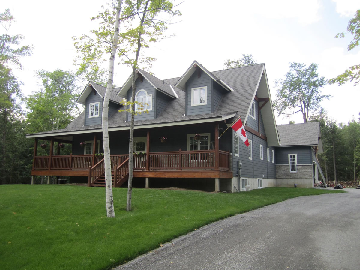 Custom home in Carleton Place