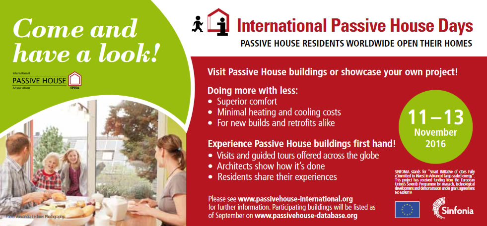 International Passive House Days poster