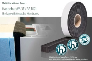 Hannoband multfunctional tape and window gasket