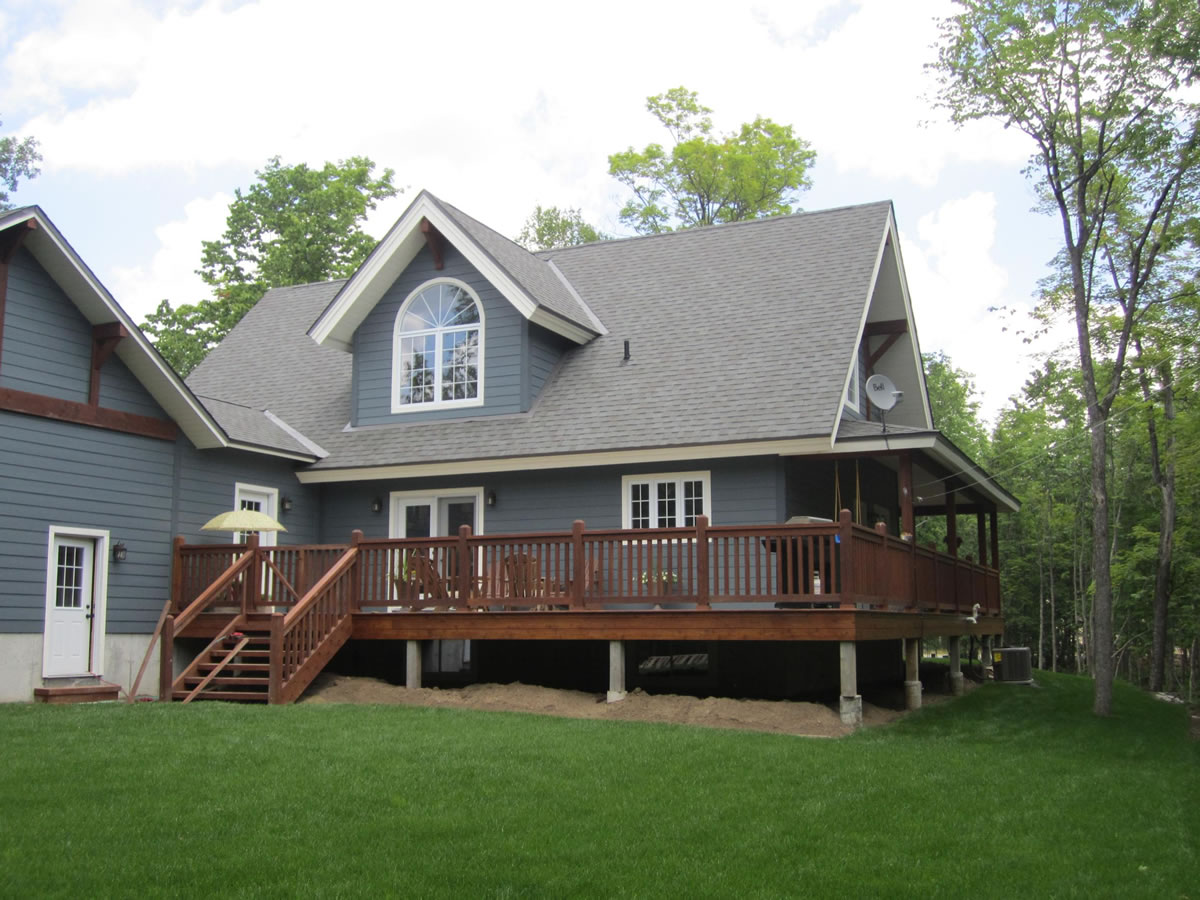 Timber frame home in Carleton Place