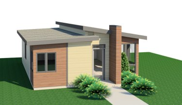 Nepean Point tiny house plan