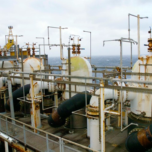 Gas Pipeline Compressor Discharge Coolers - modul P32 - nivå B - foto oktober 2004