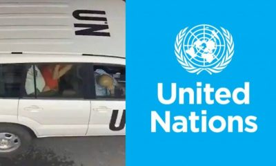UN Breaks Silence On Video Of Couple Having Sex In Its Official Car