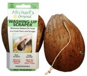 Michael's Original Drátěnka na nádobí z kokosové slupky.