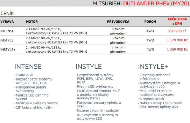 cenik-2020-mitsubishi-outlander-phev