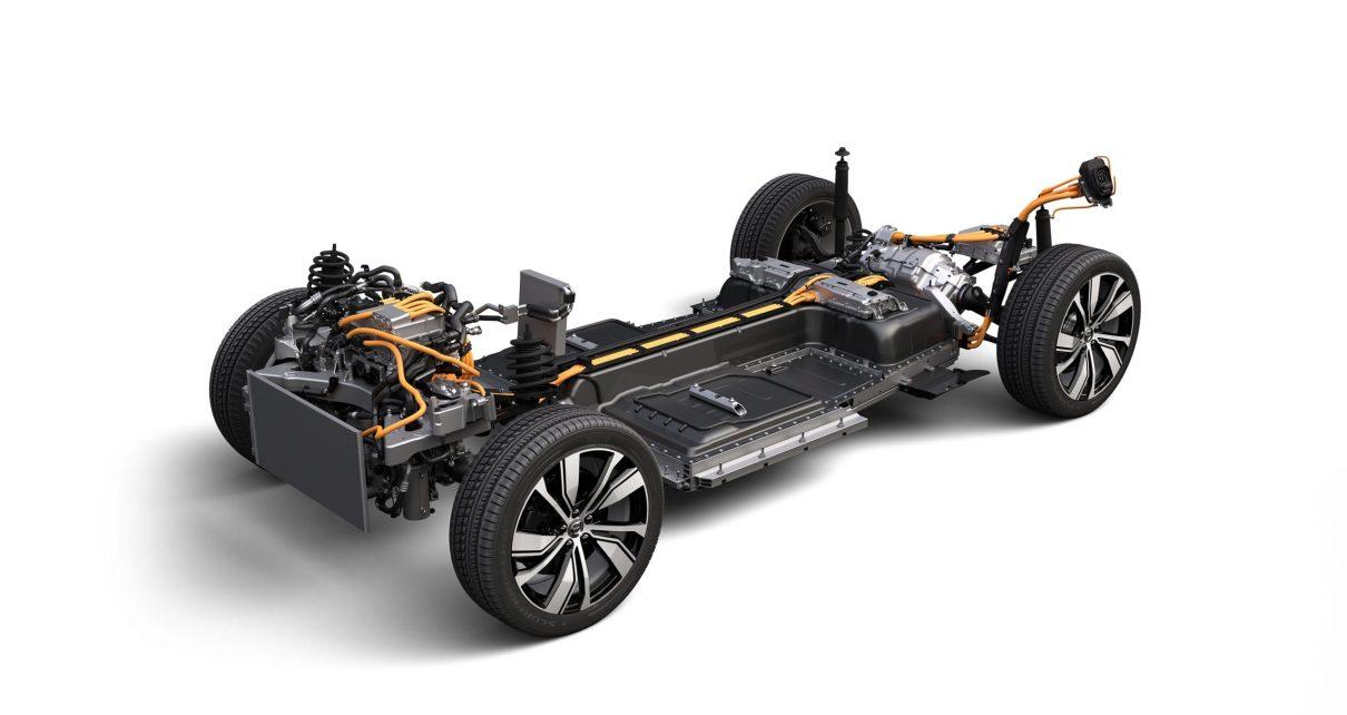 Volvo XC40 Recharge powertrain