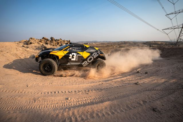 Extreme E testing (Jeddah, Saudi Arabia) 2020
