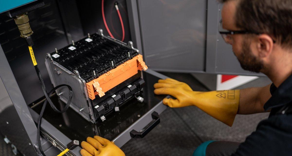 3_KIA e-Niro_proces bateriových modulů
