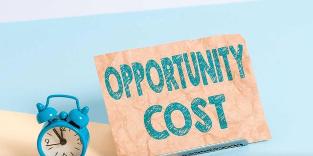cara menghitung biaya peluang