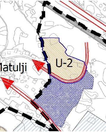 Područje obuhvata UPU dijela stamenog područja Pavlovac u GUP 2