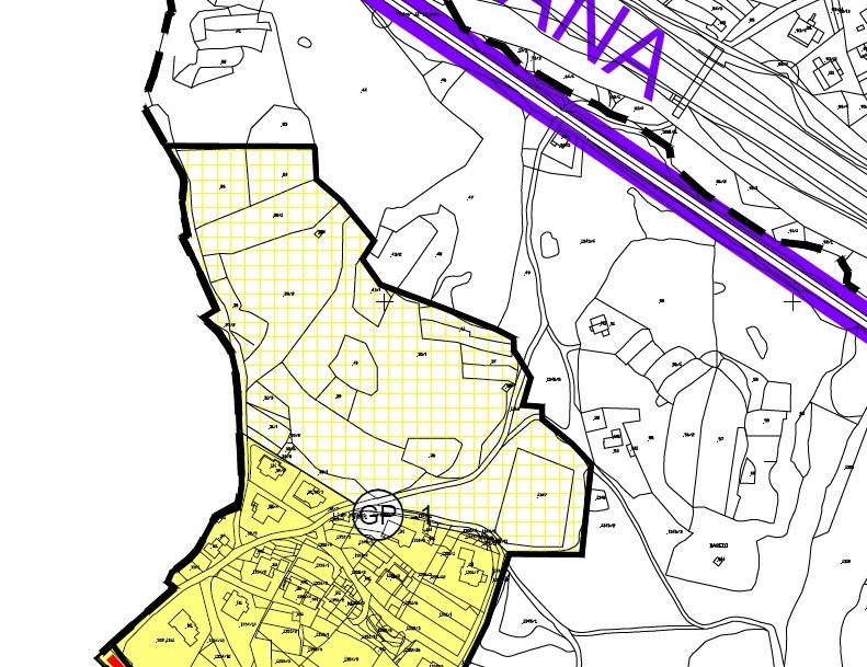 Područje obuhvata UPU dijela stamenog područja Pavlovac u PPUGR