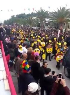 Μεγάλη επιτυχία και το φετινό καρναβάλι Βραχατίου