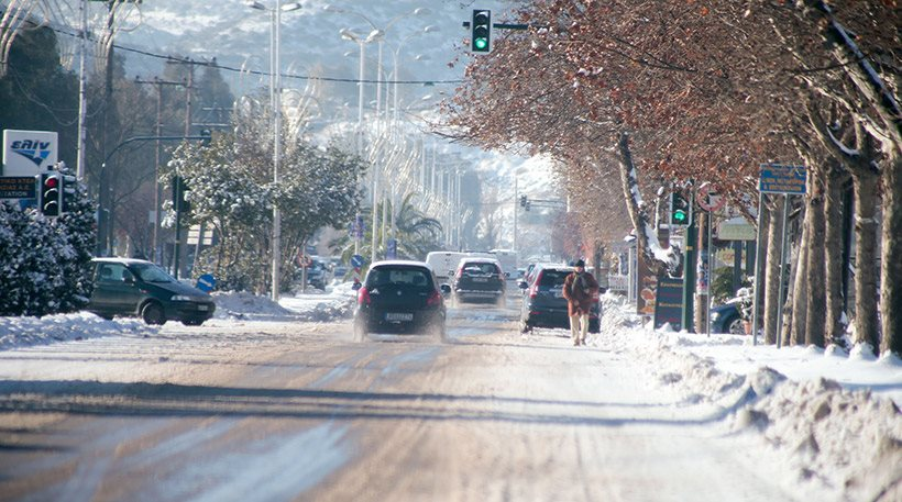Έρχεται χιονιάς: Στα λευκά σχεδόν ολόκληρη η Μακεδονία και η Θράκη! -Ο καιρος της εβδομαδας στην Κορινθια