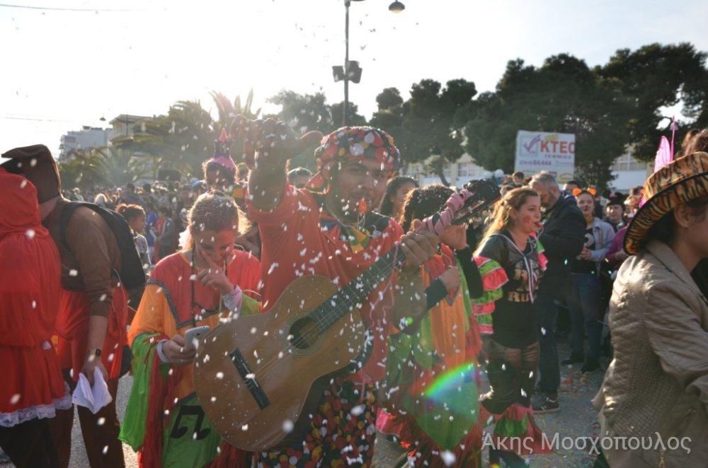 Δείτε το δεύτερο σετ φωτογραφίες από το καρναβάλι Κορινθου 2018