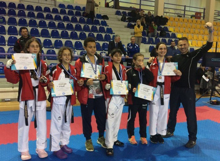 Σάρωσαν στο  διασυλλογικό πρωτάθλημα Ταεκβοντο οι Κορίνθιοι αθλητές!