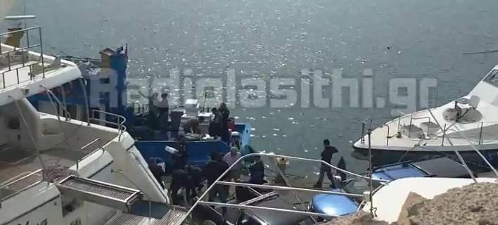 Κρήτη: Τεράστια ποσότητα κάνναβης σε αλιευτικό -Πάνω από 1 τόνος
