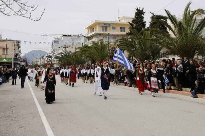 Παρέλαση 25η Μαρτίου 2018 δεύτερο μέρος