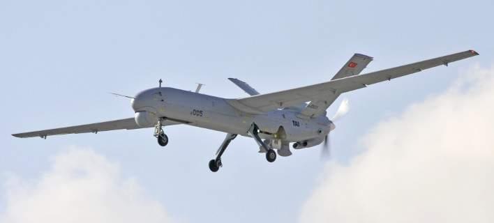 Η πρώτη αναχαίτιση τουρκικού drone από ελληνικά F-16, στο Αιγαίο