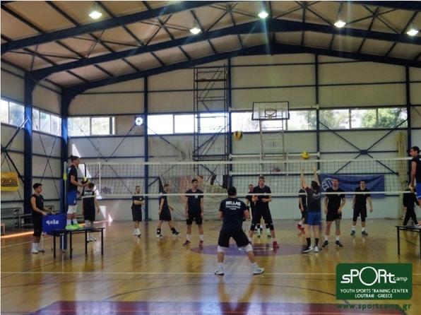 Ακόμη μία προετοιμασία υψηλών προδιαγραφών για την Εθνική Ομάδα Πετοσφαίρισης στο SPORTCAMP!