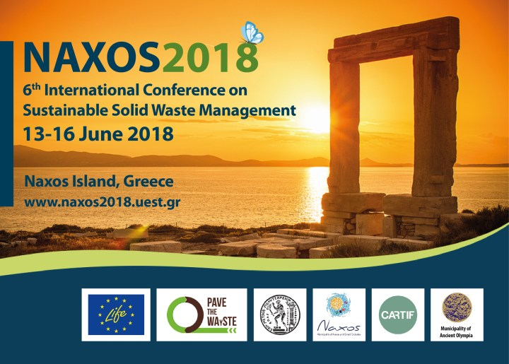NAXOS 2018 6th International Conference on Sustainable Solid Waste Management