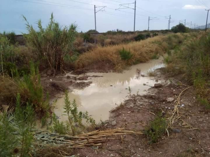Τεράστιες ζημιές από τις βροχές σε καλλιέργειες στην Κορινθια