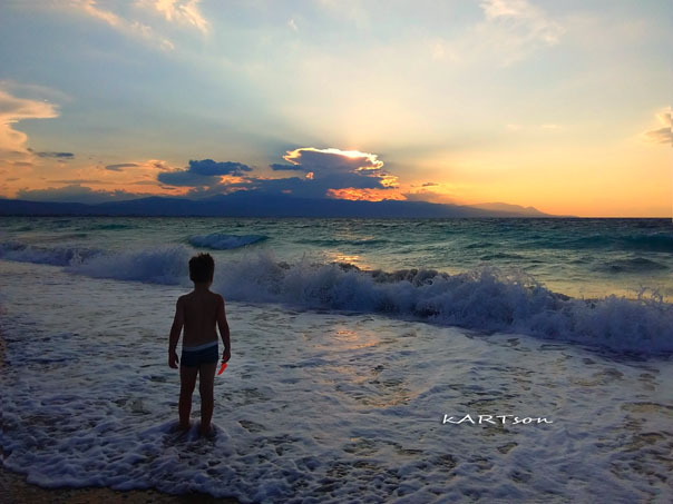 Παραλία Μ. Αλεξάνδρου (Καλάμια) Κόρινθος σήμερα. (6 φωτογραφίες)