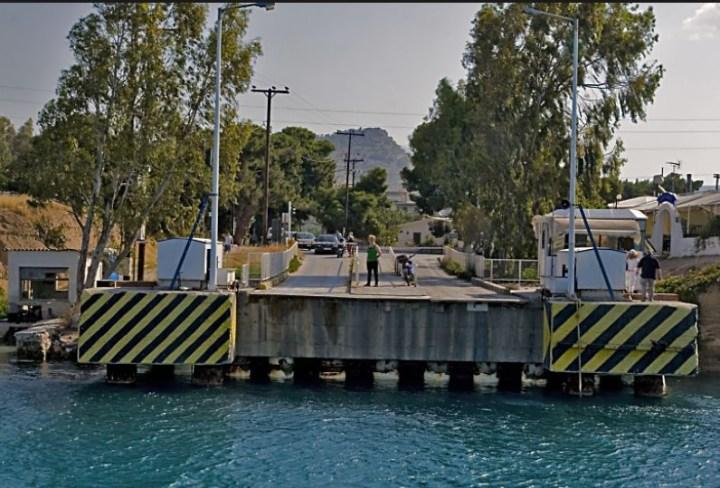 Εννέα μήνες διακοπή λειτουργίας της βυθιζόμενης γέφυρας των Ισθμίων, ποιος ευθύνεται για το γεγονός αυτό;