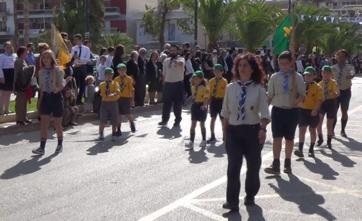 Τελευταίες φωτογραφίες από την παρέλαση της Κορίνθο