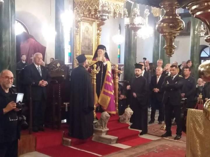 Τον Πατριάρχη Βαρθολομαίο επισκέφθηκε επιτροπή της Περιφέρειας Βορείου Ελλάδας του Ρόταρυ