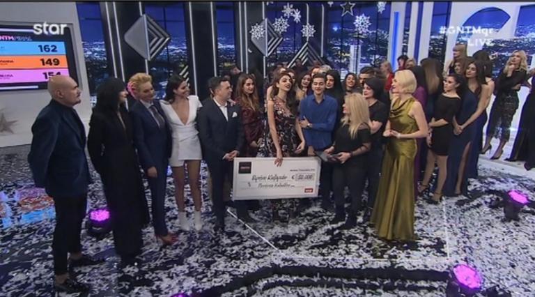 GNTM – Τελικός: Μεγάλη νικήτρια η Ειρήνη Καζαριάν!