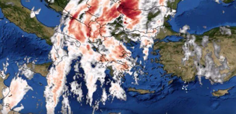 Κακοκαιρία από την Λιβύη με καταιγίδες χωρίς προηγούμενο