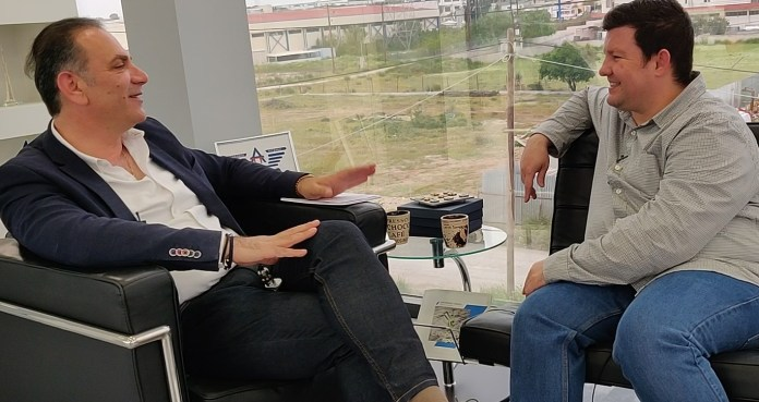 Καφές και συζήτηση με τον υποψήφιο περιφερειακό σύμβουλο Παναγιώτη Πιτσάκη