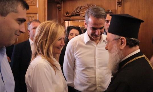 Συγχαρητήρια στη Μαρέβα από το Μητροπολίτη για τη στηριξή της στον Κυριάκο
